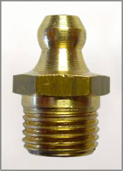 "1/8""-27 NPT BRASS GREASE FITTING"