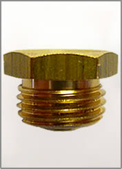 12MM X 1.5MM FLUSH TYPE BRASS GREASE FITTING