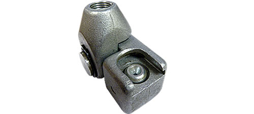 90 DEGREE SWIVEL BUTTON HEAD COUPLER