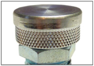 ALUMINUM BUTTON HEAD FITTING CAP