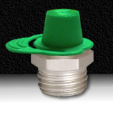GREEN GREASE FITTING CAP
