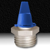 BLUE LUBRICATION FITTING CAP