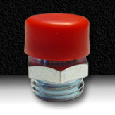 RUBBER BUTTON HEAD GREASE FITTING CAP