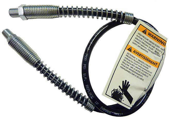 "30"" Heavy Duty Hose with Spring Guards"