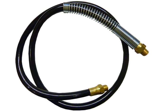 "36"" Grease Gun Hose with Spring Guard"