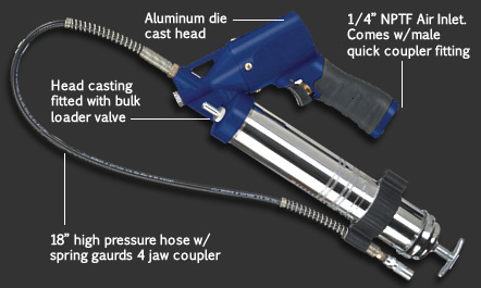 Automatic Pneumatic Grease Gun