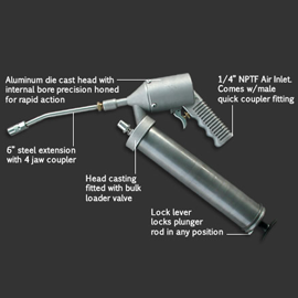Intermittent Air Operated Grease Gun