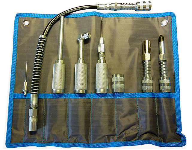 Grease Gun Quick Connect Adapter Kit