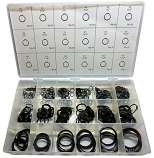 490pc External Retaining Ring Assortment. Made in The USA.