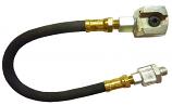 "12"" Hose w/ Swivel & Standard Button Head Coupler"
