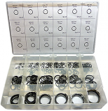 270pc Metric External Retaining Ring Assortment. Made in The USA.