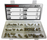 50pc Stainless Steel Grease Fitting Assortment