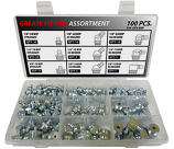100pc BSP Thread Grease Fitting Assortment